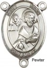 St. Mark the Evangelist Rosary Centerpiece Sterling Silver or Pewter