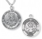 St. Michael Army Medal Sterling Silver