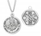 St. Michael EMT Medal Sterling Silver