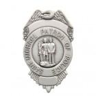 St. Michael Patron of Police Visor Clip