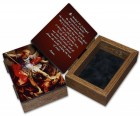 St. Michael Wood Keepsake Box