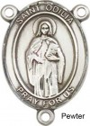 St. Odilia Rosary Centerpiece Sterling Silver or Pewter