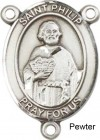 St. Philip the Apostle Rosary Centerpiece Sterling Silver or Pewter