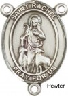 St. Rachel Rosary Centerpiece Sterling Silver or Pewter