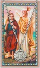St. Raphael the Archangel Medal with Prayer Card