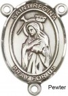 St. Regina Rosary Centerpiece Sterling Silver or Pewter