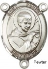 St. Robert Bellarmine Rosary Centerpiece Sterling Silver or Pewter
