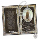 St. Roch Medal in Pewter with Bi-Fold Prayer Card