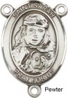 St. Sarah Rosary Centerpiece Sterling Silver or Pewter