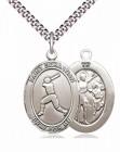 St. Sebastian Baseball Medal