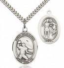 St. Sebastian Football Medal