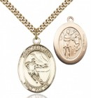 Boys St. Sebastian Ice Hockey Pendant