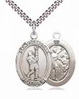 St. Sebastian Lacrosse Medal
