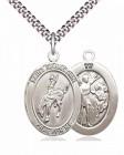 St. Sebastian Rodeo Medal