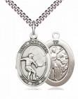 St. Sebastian Soccer Medal