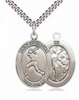 St. Sebastian Softball Medal