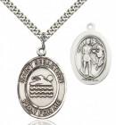 St. Sebastian Swimming Medal