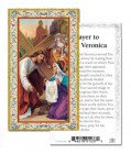 St. Veronica Prayer Cards 100 Pack