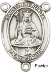 St. Walburga Rosary Centerpiece Sterling Silver or Pewter
