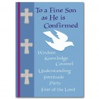 To a Fine Son as He is Confirmed Greeting Card