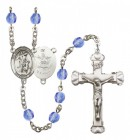 Women's Guardian Angel Army Birthstone Rosary