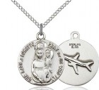 Women's Our Lady of Loretto Pray For Us Who Fly Medal