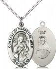 Women's Our Lady of Perpetual Help Hope Necklace