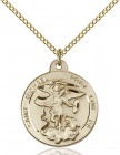 Women's Round St. Michael the Archangel Medal