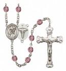 Women's St. Agatha Nurse Birthstone Rosary