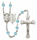 Women's St. Luke the Apostle Doctor Birthstone Rosary