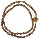 Wood Twist Rosary Bracelet - 5mm