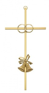 50th Anniversary Cross - 8 inch Metal [CR4062]