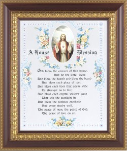 A House Blessing Prayer Framed Print [HFP386]