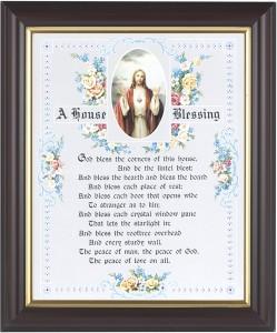 A House Blessing Prayer Framed Print HFP386