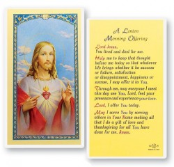 A Lenten Morning Offering Laminated Prayer Cards 25 Pack [HPR727]