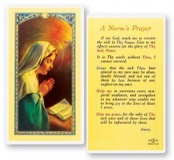 A Nurse's Laminated Prayer Cards 25 Pack [HPR789]