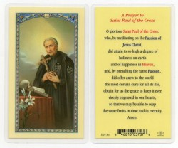 A Prayer To St. Paul Laminated Prayer Cards 25 Pack [HPR513]