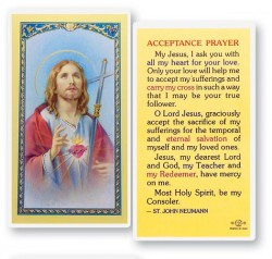 Acceptance Laminated Prayer Cards 25 Pack [HPR728]