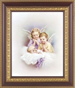Angels Watching Over Me Framed Print [HFP351]