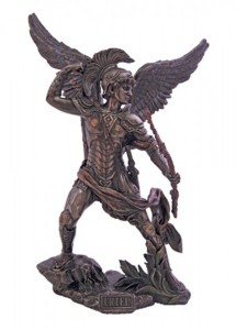 Archangel Uriel Statue - 13 1/4 Inches [GSS010]