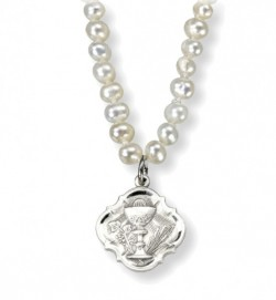 Baroque Chalice Necklace with Freshwater Pearls [HMM3377]