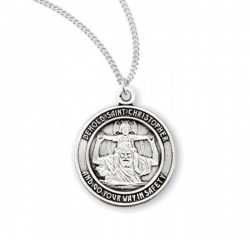 Behold Saint Christopher Necklace [HMM3409]