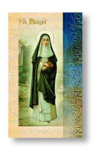 Biography of St. Brigid Pamphlet - 10 per pack [HPR411A]