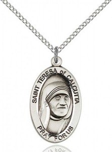 St. Teresa of Calcutta Oval Medal [BM0076]