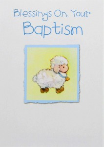 Baptism greeting cards catholic faith store view all blessings on your baptism card ab3235 m4hsunfo