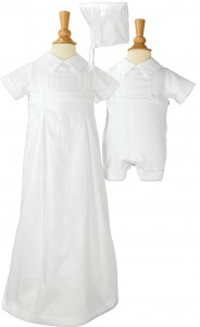 Boys Cotton Convertible Christening Set [LTM035]