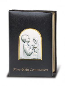 Boys First Communion Missal from Salerni [HM5882]