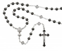 Boys First Communion Rosary with Cross Our Father Beads [MV1080]