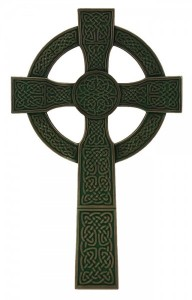 Celtic Cross, Bronzed Resin - 8 inch [GSS079]