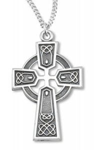 Celtic Cross Sterling Silver [HMCR1000]